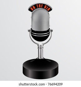 vector on the air desktop microphone
