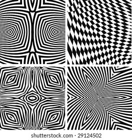vector - optical art collection