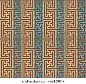 Vector Oriental Seamless Tile
