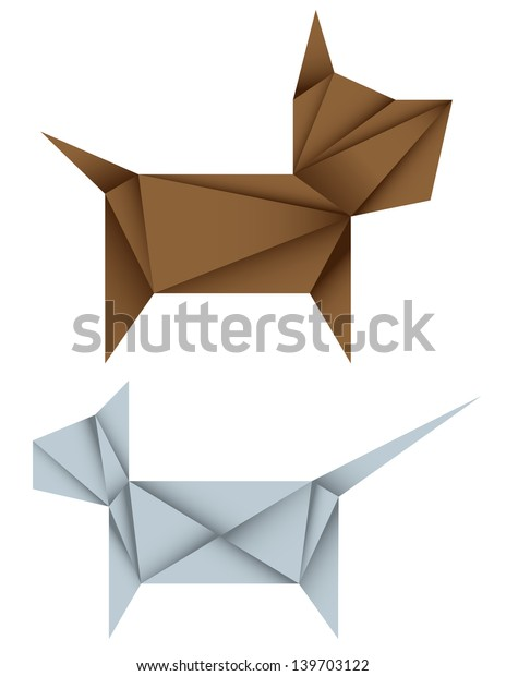 How to make an origami dog, pig, cat step by step. - YouTube | 620x464