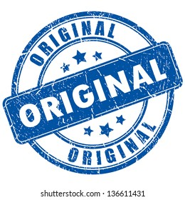 Vector original stamp