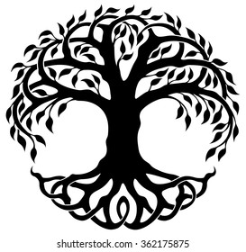 tree of life images stock photos vectors shutterstock rh shutterstock com tree of life logos in pics JNF Tree of Life Logo