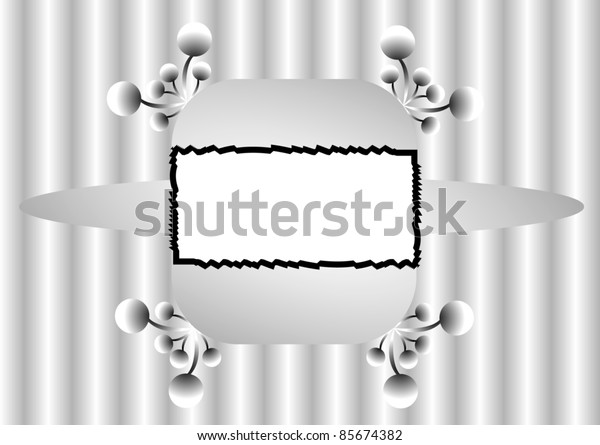 Vector ornate frame and background.
