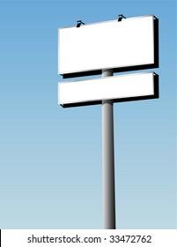 vector outdoor billboard
