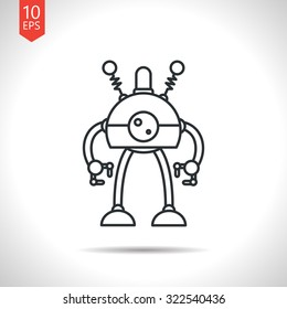 Robotics Outline Images Stock Photos Vectors Shutterstock