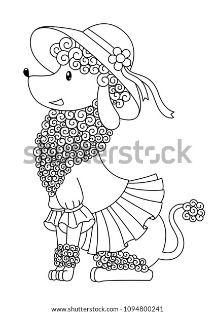 Vector Outlined Doodle Coloring Book Page Stock Vector Royalty Free 1094800241