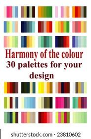 vector palettes for design
