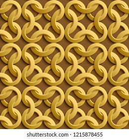 Vector paper cut geometric modern background. Trendy craft style illustration. 3d effect imitation