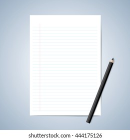 A4 Lined Paper Images, Stock Photos & Vectors | Shutterstock