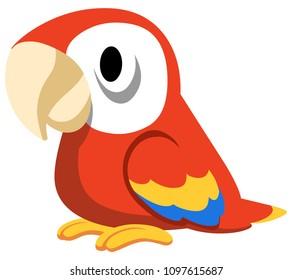Vector parrot design