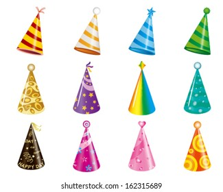 vector of party hat / christmas hat