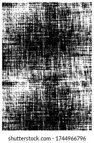 Vector  pattern. Abstract background. Monochrome hand made grunge texture. Modern graphic design.carpet pattern