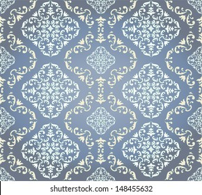 vector pattern. Barocco style, perfect seamless texture. EPS 8 format