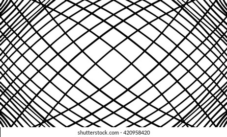 vector pattern, hand drawn lines in symmetrical marker design of slanted or diagonal lines in criss cross or hatch work pattern