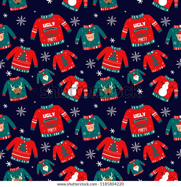 vector pattern holiday events ugly 600w 1185804220