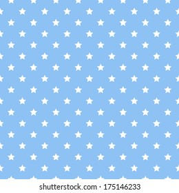 Vector pattern made with stars