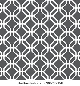 Vector pattern. Modern stylish texture. Repeating geometric tiles with octagons and rhombuses