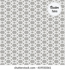 vector pattern repeating linear decagon overlap each