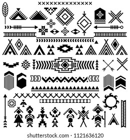 vector tribal ethnic seamless pattern egypt のベクター画像素材