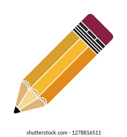vector Pencil icon-school symbol-education illustration-drawing isolated-stationery symbol-sketch sign