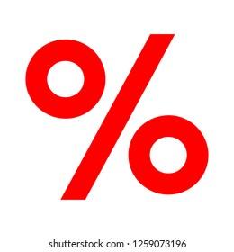vector percentage sign