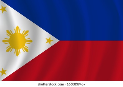 Vector philippines flag, philippines flag illustration, philippines flag picture, philippines flag image