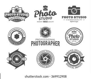 Vector photography logo