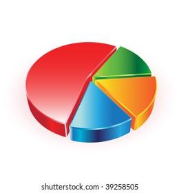 vector pie chart
