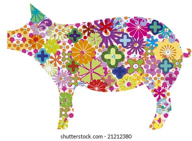 vector pig