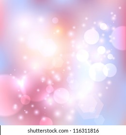 Vector pink abstract background.