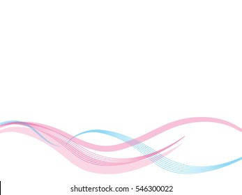 Vector pink abstract background with waves, color line for wedding and valentine day.  abstract wave lines wave texture  background web design  abstract card abstract banners for business finance.