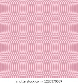 Vector pink geometric background of intersecting thin lines for substrate, web site, textile, wallpaper.