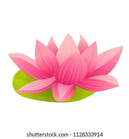 Lotus Flower Cartoon Images Stock Photos Vectors Shutterstock