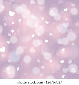 Vector pink love abstract background.