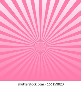 Vector pink striped background