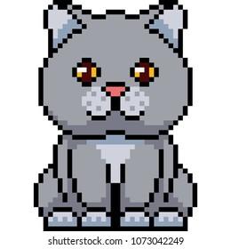 Imágenes Fotos De Stock Y Vectores Sobre Pixel Cat