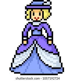 Pixel Art Princess Images Stock Photos Vectors Shutterstock
