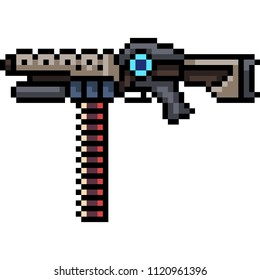 Pistol Sci Fi Weapon Concept Art