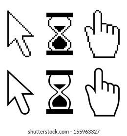 Vector pixel cursors