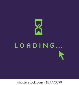 Game Loading Screen Stock Vectors Images Vector Art