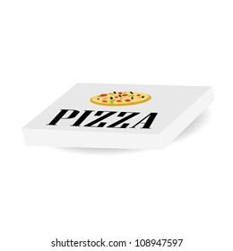 vector pizza box