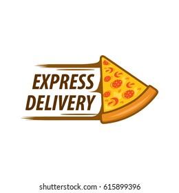 Vector pizza logo