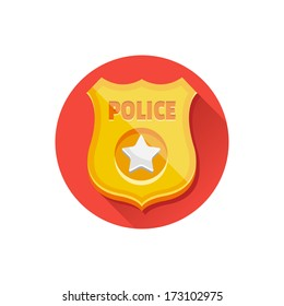 Police Officers Badge Stock Illustrations, Images & Vectors