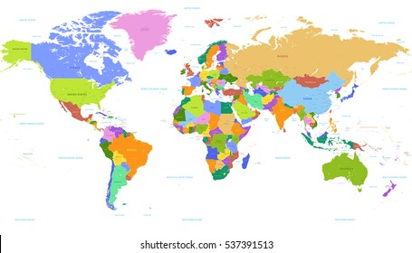 Germany On Map Of World.World Map Highlighting Germany Images Stock Photos Vectors