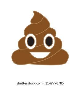 Vector poop emoji