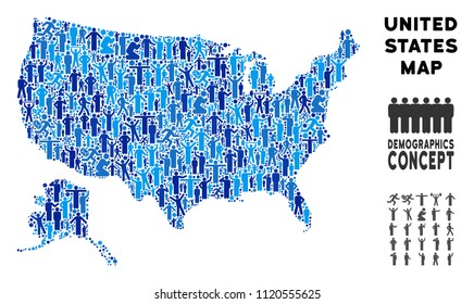 People Map Of The Us Us People Map HD Stock Images | Shutterstock