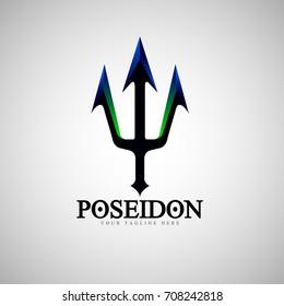 Vector Poseidon Logo design