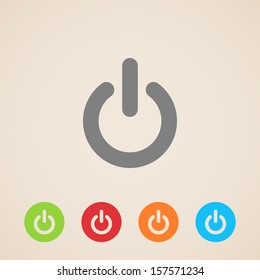 vector power icons