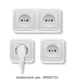 Vector power socket