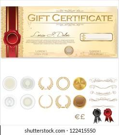 Vector Premium Certificate Template